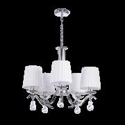Люстра BENETTI Classic Marchesa хром/белый, 5хE14, коллекция CLS-005