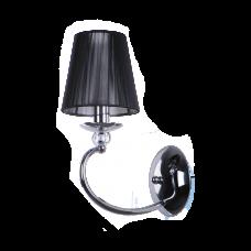Бра BENETTI Classic Ardore хром/черный, 1хE14, коллекция CLS-007