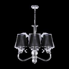 Люстра BENETTI Classic Ardore хром/черный, 3хE14, коллекция CLS-007