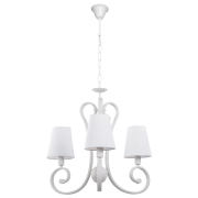 Люстра BENETTI Classic Riccioli белый/белый, 3хE14, коллекция CLS-008