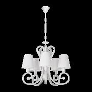 Люстра BENETTI Classic Riccioli белый/белый, 5хE14, коллекция CLS-008
