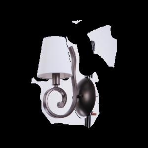 Бра BENETTI Classic Riccioli коричневый/белый, 1хE14, коллекция CLS-008