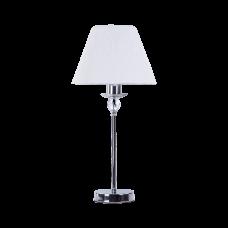 Лампа настольная BENETTI Classic Dolcezza хром/белый, 1хE14, коллекция CLS-009