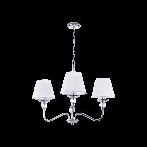 Люстра BENETTI Classic Dolcezza хром/белый, 3хE14, коллекция CLS-009