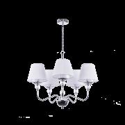 Люстра BENETTI Classic Dolcezza хром/белый, 5хE14, коллекция CLS-009