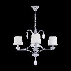 Люстра BENETTI Classic Amabile хром/белый, 4хE14, коллекция CLS-010