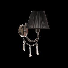 Бра BENETTI Classic Eleganza хром/черный, 1хE14, коллекция CLS-401