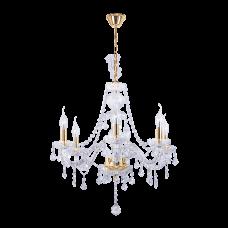 Люстра BENETTI Crystal Limpido золото, 6xE14, коллекция CRL-001