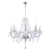 Люстра BENETTI Crystal Limpido хром, 8xE14, коллекция CRL-001
