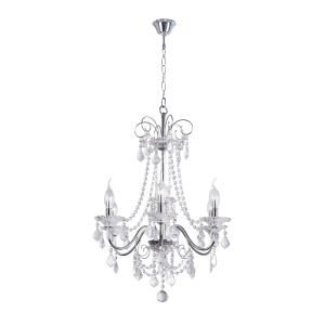 Люстра BENETTI Crystal Splendido хром, 6xE14, коллекция CRL-002