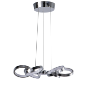 Светодиодный светильник BENETTI LED Geometria хром, 24Вт 3000K, 1415 Lm, коллекция LED-001