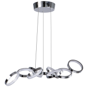 Светодиодный светильник BENETTI LED Geometria хром, 30Вт 3000K, 1900 Lm, коллекция LED-001