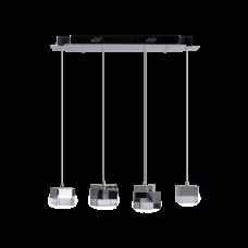 Светодиодный светильник BENETTI LED Geometria хром, 25Вт 3000K, 1600 Lm, коллекция LED-005