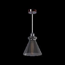 Cветильник BENETTI Modern Fusione подвесной серый/дымчатый, 1xE27, коллекция MOD-021