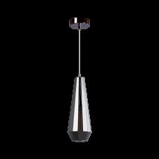 Cветильник BENETTI Modern Fusione подвесной серый/дымчатый, 1xE27, коллекция MOD-023