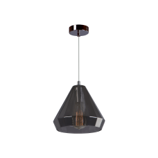 Cветильник BENETTI Modern Fusione подвесной серый/дымчатый, 1xE27, коллекция MOD-024