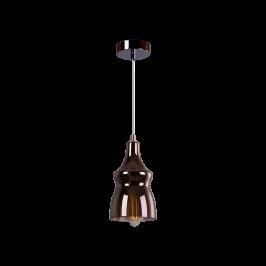 Cветильник BENETTI Modern Fusione подвесной кофе, 1xE27, коллекция MOD-028