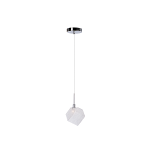 Cветильник BENETTI Modern Kubo подвесной хром, 1xG9, коллекция MOD-030