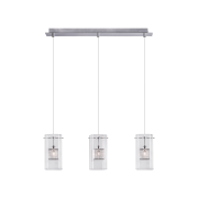 Светильник BENETTI Modern Kubo подвесной хром, 3хG9, коллекция MOD-040