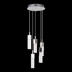 Светильник BENETTI Modern Raggio подвесной хром, 5хMR11, коллекция MOD-045