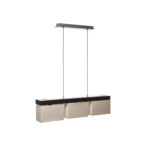 Люстра BENETTI Modern Rigorosità  венге/кремовый, 3xE14, коллекция MOD-403