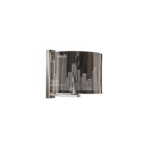 Бра BENETTI Modern Città хром, 1хE27, коллекция MOD-405