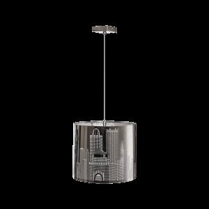 Люстра BENETTI Modern Città хром, 1хE27, коллекция MOD-405