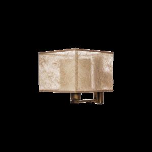 Бра BENETTI Modern Nebbia бронза/золотистый, 1xE27, коллекция MOD-407