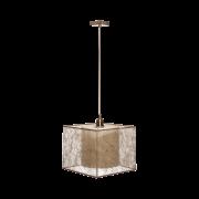 Люстра BENETTI Modern Nebbia бронза/золотистый, 1xE27, коллекция MOD-407