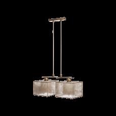 Люстра BENETTI Modern Nebbia бронза/золотистый, 2xE27, коллекция MOD-407