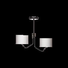 Люстра BENETTI Modern Girevole черный/белый, 2xE27, коллекция MOD-410