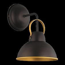Бра BENETTI Modern Loft темный венге/золото, 1xE27, коллекция MOD-411