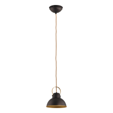 Светильник BENETTI Modern Loft темный венге/золото, 1xE27,  коллекция MOD-411