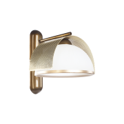 Бра BENETTI Modern Arco золотистая бронза/золото, 1xE27,  коллекция MOD-415