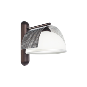 Бра BENETTI Modern Arco темная бронза/хром, 1xE27,  коллекция MOD-415