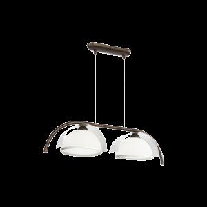 Люстра BENETTI Modern Arco темная бронза/хром, 2xE27,  коллекция MOD-415