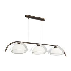 Люстра BENETTI Modern Arco темная бронза/хром, 3xE27,  коллекция MOD-415