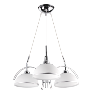 Люстра BENETTI Modern Ponte светлое серебро, 3xE27,  коллекция MOD-416