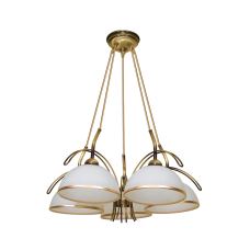 Люстра BENETTI Modern Ponte золотистый никель, 5xE27,  коллекция MOD-416
