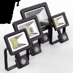 Прожекторы Gauss Elementary с датчиком движения