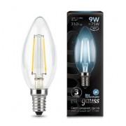 Лампа Gauss LED Filament Candle E14 9W 4100К 1/10/50