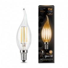 Лампа Gauss LED Filament Candle tailed E14 9W 2700K 1/10/50