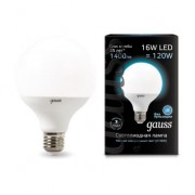 Лампа Gauss LED G95 E27 16W 4100K 1/32