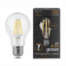 Лампа Gauss LED Filament Graphene A60 E27 12W 2700К 1/10/40