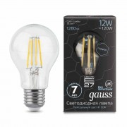 Лампа Gauss LED Filament Graphene A60 E27 12W 4100К 1/10/40