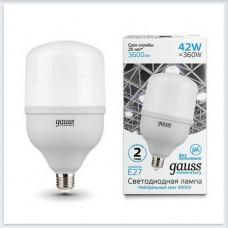 Лампа Gauss Elementary LED T120 E27 42W 3600lm 180-240V 4000K 1/12