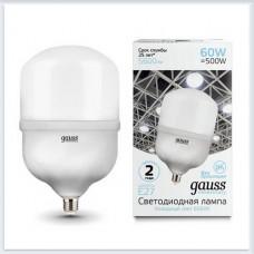 Лампа Gauss Elementary LED T160 E27 60W 5600lm 180-240V 6500K 1/6