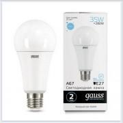 Лампа Gauss LED Elementary A67 35W E27 2790lm 6500K 1/10/50