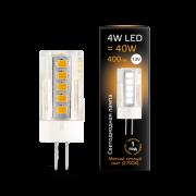 Лампа Gauss LED G4 12V 4W 2700K керамика 1/10/200
