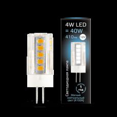 Лампа Gauss LED G4 12V 4W 4100K керамика 1/10/200
